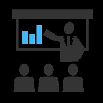 Les-communicateurs-icon-plan-daffaire-consultation-en-entreprise