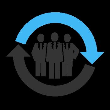 Les-communicateurs-icon-plan-daffaire-partenaire-en-affaire